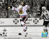 Patrick Kane Game Six of the 2010 Stanley Cup Finals Spotlight #62 Photo