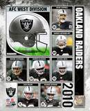 2010 Oakland Raiders Team Composite Photo