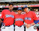 CC Sabathia, Robinson Cano & Alex Rodriguez 2010 MLB All-Star Game Photo