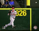 Jay Bruce 2010 Action Photo