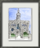 Capilla Del Carmen Limited Edition Framed Print by John Woolley