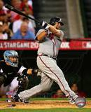 Brian McCann 2010 MLB All-Star Game Three Run Double Photo