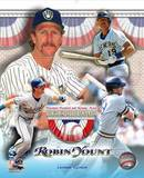 Robin Yount Hall of Fame Limited Edition Photo
