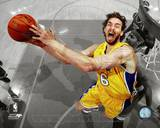 Pau Gasol Game Seven of the 2010 NBA Finals Spotlight Action (37) Photo