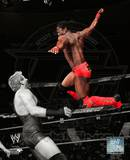 World Wrestling Entertainment Kofi Kingston 2010 Spotlight Action Photo
