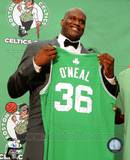 Boston Celtics Shaquille O'Neal 2010 Press Conference Photo