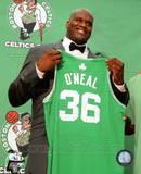 Boston Celtics Shaquille O'Neal 2010 Press Conference Photo