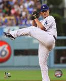 Chad Billingsley 2010 Action Photo