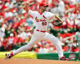 Adam Wainwright 2010 Action Photo