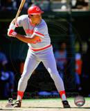 Tony Perez 1985 Action Photo