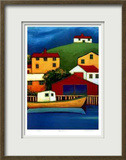 Petty Harbor Limited Edition Framed Print by Carol Ann Shelton