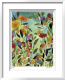 Tahitian Garden Limited Edition Framed Print by Kim Parker