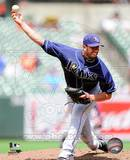 James Shields 2010 Action Photo