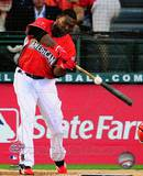 David Ortiz 2010 Home Run Derby Champion Action Photo