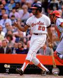 Baltimore Orioles Frank Robinson 1970 World Series Action Photo