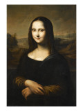 Copie de la Joconde de Leonard de Vinci Giclée-Druck von Léonard de Vinci