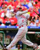 Brandon Phillips 2010 Action Photo