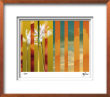 Tropical Variation IV Limited Edition Framed Print by M.J. Lew