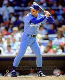 Kansas City Royals George Brett 1990 Action Photo