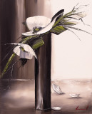 Bouquet Blanc I Prints by Olivier Tramoni