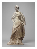 """""""The Sophoclean"""" Veiled Woman, Draped in a Himation Giclee Print"""