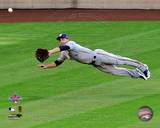 Ryan Bruan 2010 MLB All-Star Game Catch Photo