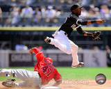 Alexei Ramirez 2010 Action Photo