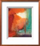 Abstracted Fruit XVII Limited Edition Framed Print by Sylvia Angeli