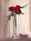 Les Fleurs Rouges I Prints by Olivier Tramoni