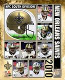 2010 New Orlenas Saints Team Composite Photo
