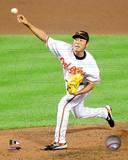 Koji Uehara 2010 Action Photo