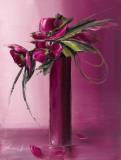 Bouquet Violet II Kunst af Olivier Tramoni