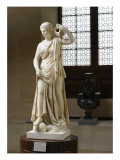 &quot;Nymphe Anchyrroh&#233;e&quot; ou &quot;Muse Terpsichore&quot;  Gicl&#233;e-Druck