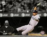 MLB Ichiro Suzuki 2010 Spotlight Action Photo