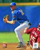 Chase Utley UCLA Action Photo