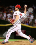 Dan Haren 2010 Action Photo