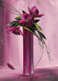 Bouquet Violet I Posters by Olivier Tramoni