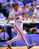 New York Mets Darryl Strawberry 1990 Action Photo