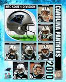 2010 Carolina Panthers Team Composite Photo