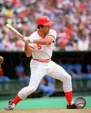 Johnny Bench Action Photo