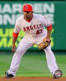 Howie Kendrick 2010 Action Photo