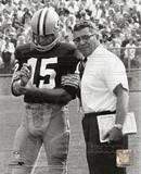 NFL Vince Lombardi & Bart Starr Photo