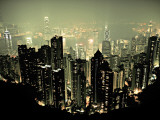 Hong Kong Psters por Marcin Stawiarz