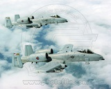 A-10 Thunderbolts United States Air Force Photo