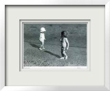 Untitled - 2 Toddlers Limited Edition Framed Print by B. A. King