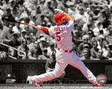 Albert Pujols 2010 Spotlight Action Photo