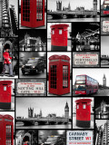 London Repeat Affiches par Joseph Eta