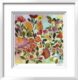 Rose Trellis Limited Edition Framed Print by Kim Parker