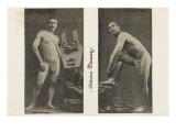 Adrien Deriaz. la santé par le sport. N°33 8  1913,  leveur de poids Lámina giclée