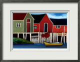 South Shore Limited Edition Framed Print by Carol Ann Shelton